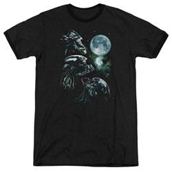 Aliens - Mens Alien Howl Ringer T-Shirt