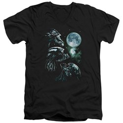 Aliens - Mens Alien Howl V-Neck T-Shirt