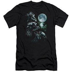 Aliens - Mens Alien Howl Premium Slim Fit T-Shirt