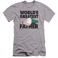 Family Guy - Mens The Greatest Father Premium Slim Fit T-Shirt