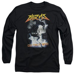 Aliens - Mens Cut The Power Long Sleeve T-Shirt