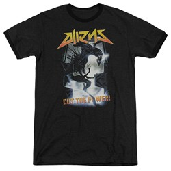 Aliens - Mens Cut The Power Ringer T-Shirt