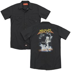 Aliens - Mens Cut The Power (Back Print) Work Shirt