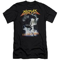 Aliens - Mens Cut The Power Premium Slim Fit T-Shirt