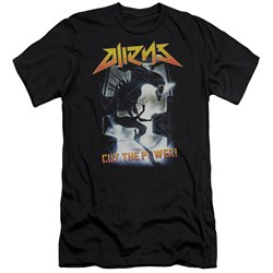Aliens - Mens Cut The Power Slim Fit T-Shirt