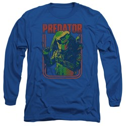 Predator - Mens Retro Predator Long Sleeve T-Shirt