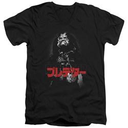 Predator - Mens Predator Kanji V-Neck T-Shirt