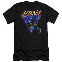 Aliens - Mens Neonmorph Premium Slim Fit T-Shirt