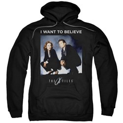 X Files - Mens Want To Believe Pullover Hoodie