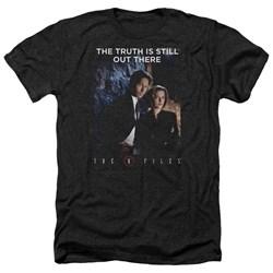 X Files - Mens Teamwork Truth Heather T-Shirt