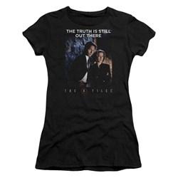 X Files - Juniors Teamwork Truth T-Shirt