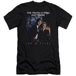 X Files - Mens Teamwork Truth Premium Slim Fit T-Shirt