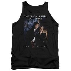 X Files - Mens Teamwork Truth Tank Top