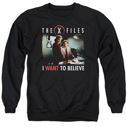 X Files - Mens Believe At The Office Sweater