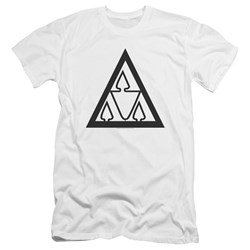 Revenge Of The Nerds - Mens Tri Lamb Logo Premium Slim Fit T-Shirt