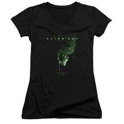 Aliens - Juniors Alien Day 2018 V-Neck T-Shirt