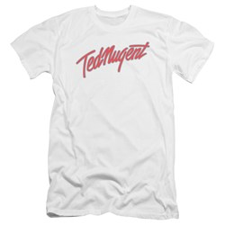 Ted Nugent - Mens Clean Logo Premium Slim Fit T-Shirt