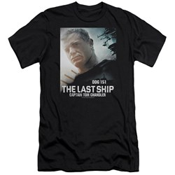 Last Ship - Mens Captain Premium Slim Fit T-Shirt