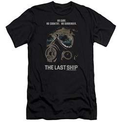 Last Ship - Mens Mask Premium Slim Fit T-Shirt