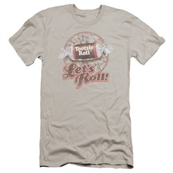 Tootsie Roll - Mens Lets Roll! Premium Slim Fit T-Shirt