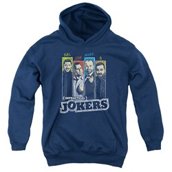Impractical Jokers - Youth Slides Pullover Hoodie