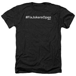 Impractical Jokers - Mens Fixjokersopen Heather T-Shirt