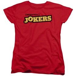 Impractical Jokers - Womens Impractical Jokers Logo T-Shirt