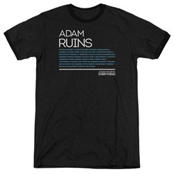 Adam Ruins Everything - Mens Everything Ringer T-Shirt