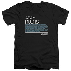Adam Ruins Everything - Mens Everything V-Neck T-Shirt
