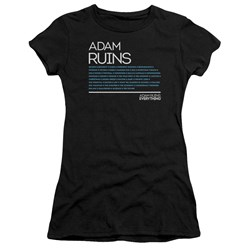 Adam Ruins Everything - Juniors Everything Premium Bella T-Shirt