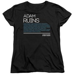 Adam Ruins Everything - Womens Everything T-Shirt