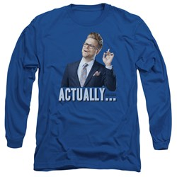 Adam Ruins Everything - Mens Actually Long Sleeve T-Shirt