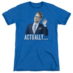 Adam Ruins Everything - Mens Actually Ringer T-Shirt
