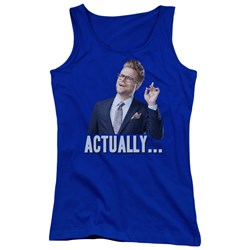 Adam Ruins Everything - Juniors Actually Tank Top