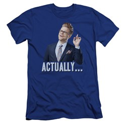 Adam Ruins Everything - Mens Actually Premium Slim Fit T-Shirt