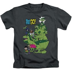 Teen Titans Go - Youth Beast Boy Stack T-Shirt
