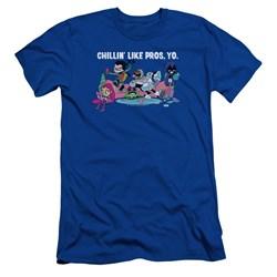 Teen Titans Go - Mens Like Pros Yo Slim Fit T-Shirt