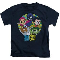 Teen Titans Go - Youth Go Go Group T-Shirt