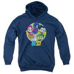 Teen Titans Go - Youth Go Go Group Pullover Hoodie