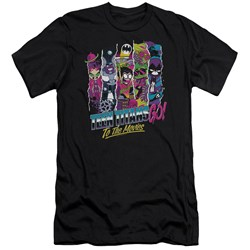 Teen Titans Go To The Movies - Mens To The Movies Premium Slim Fit T-Shirt