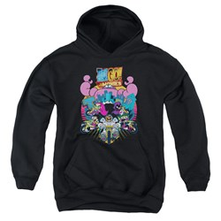 Teen Titans Go To The Movies - Youth Burst Through Pullover Hoodie