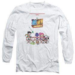 Teen Titans Go To The Movies - Mens Poster Long Sleeve T-Shirt