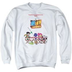 Teen Titans Go To The Movies - Mens Poster Sweater
