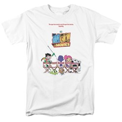 Teen Titans Go To The Movies - Mens Poster T-Shirt