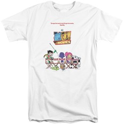 Teen Titans Go To The Movies - Mens Poster Tall T-Shirt