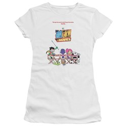 Teen Titans Go To The Movies - Juniors Poster T-Shirt