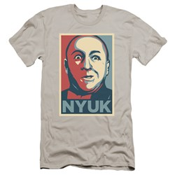 Three Stooges - Mens Nyuk Premium Slim Fit T-Shirt
