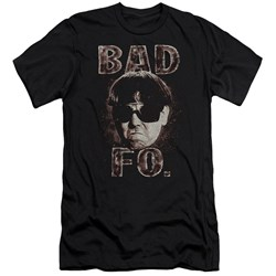 Three Stooges - Mens Bad Moe Fo Premium Slim Fit T-Shirt
