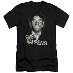 Three Stooges - Mens Shemp Happens Premium Slim Fit T-Shirt