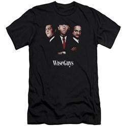Three Stooges - Mens Wiseguys Premium Slim Fit T-Shirt